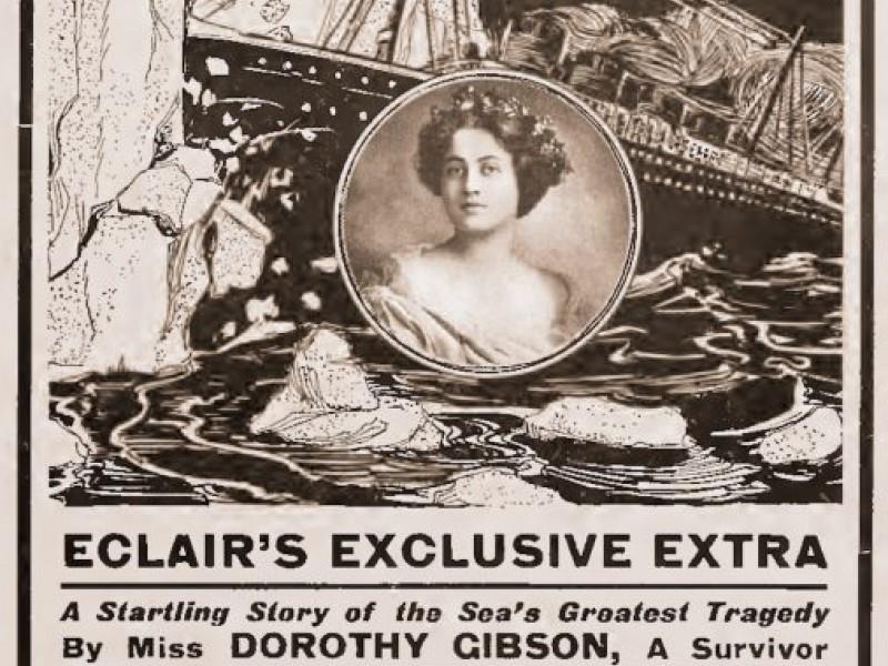 Salvata dal Titanic era un film con Dorothy Gibson