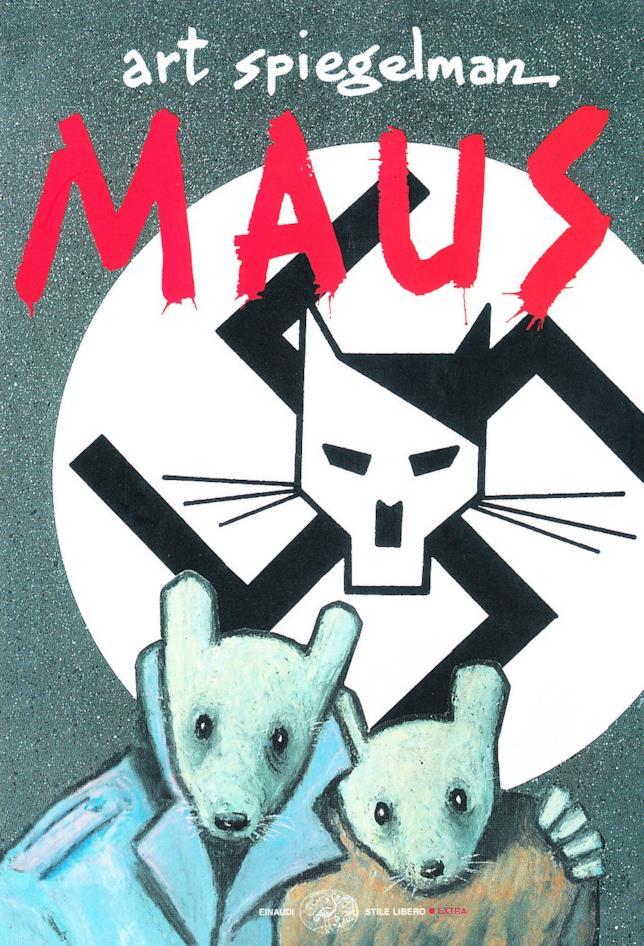 La copertina del fumetto di Spiegelman