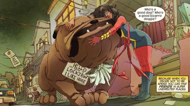 Lockjaw e Kamala Khan, Ms. Marvel