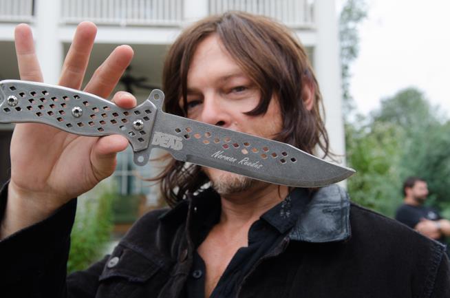 Il coltello firmato da Norman Reedus