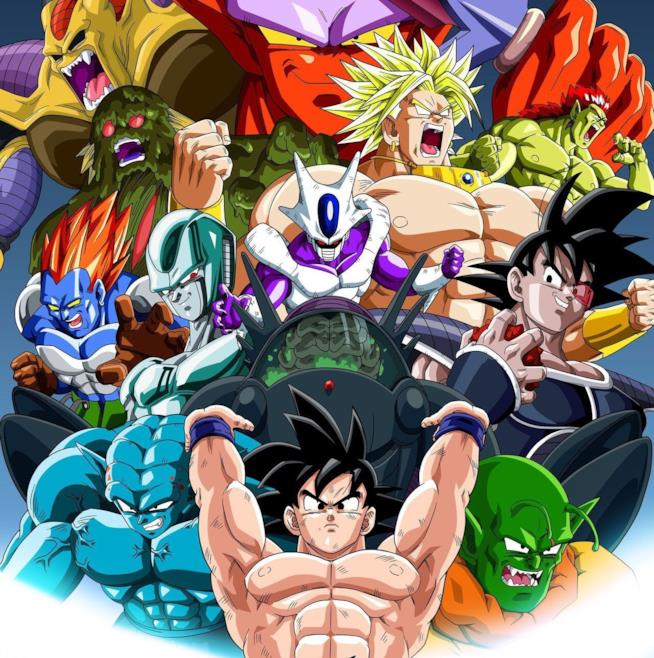 Dragon Ball Goku e i suoi nemici apparsi nei film
