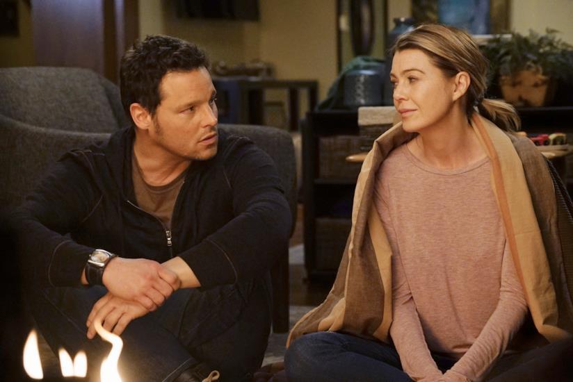 Meredith Grey e Alex Karev parlano dei ricordi legati a Derek