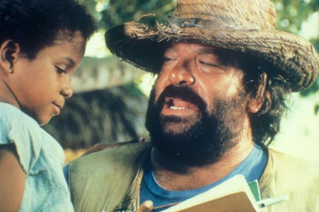Bud Spencer è Banana Joe nel film del 1982