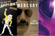 Le copertine delle biografie sui Queen