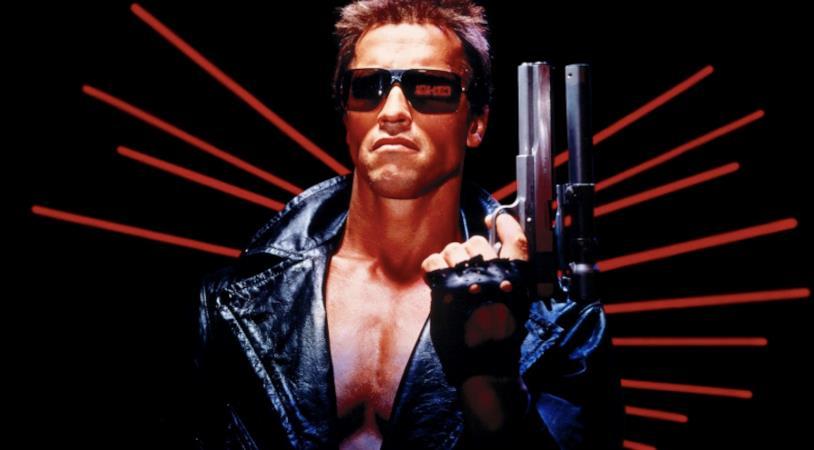 Arnold Schwarzenegger in Terminator (1984)