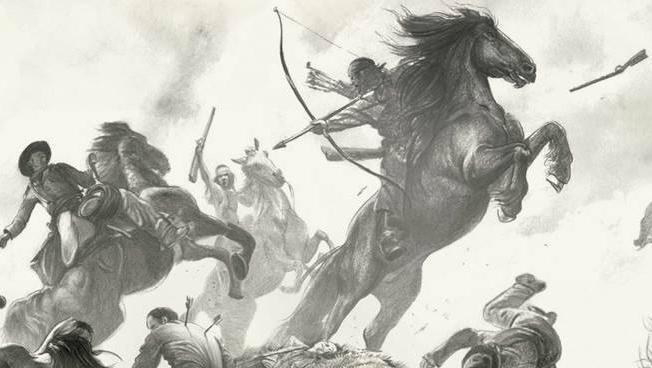 Apache combattono contro gli americani