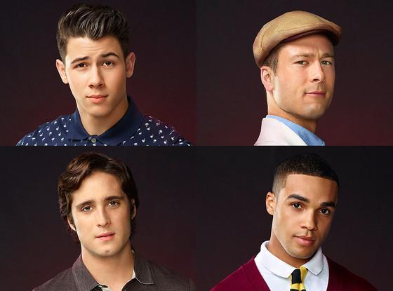 Pete, Chad, Boone e Earl di Scream Queens nelle loro immagini promo