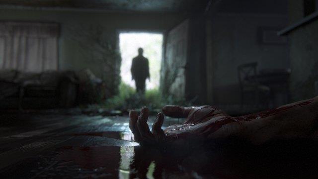 Una mano insanguinata dal trailer di The Last of Us Part II