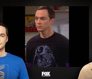 Le T-shirt più nerd di Sheldon