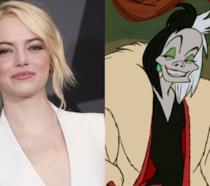 Emma Stone e Crudelia De Mon in versione animata