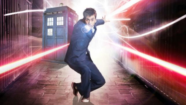 David Tennant nei panni di Doctor Who