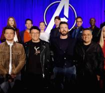 Un primo piano degli Avengers in un poster ufficiale di Endgame