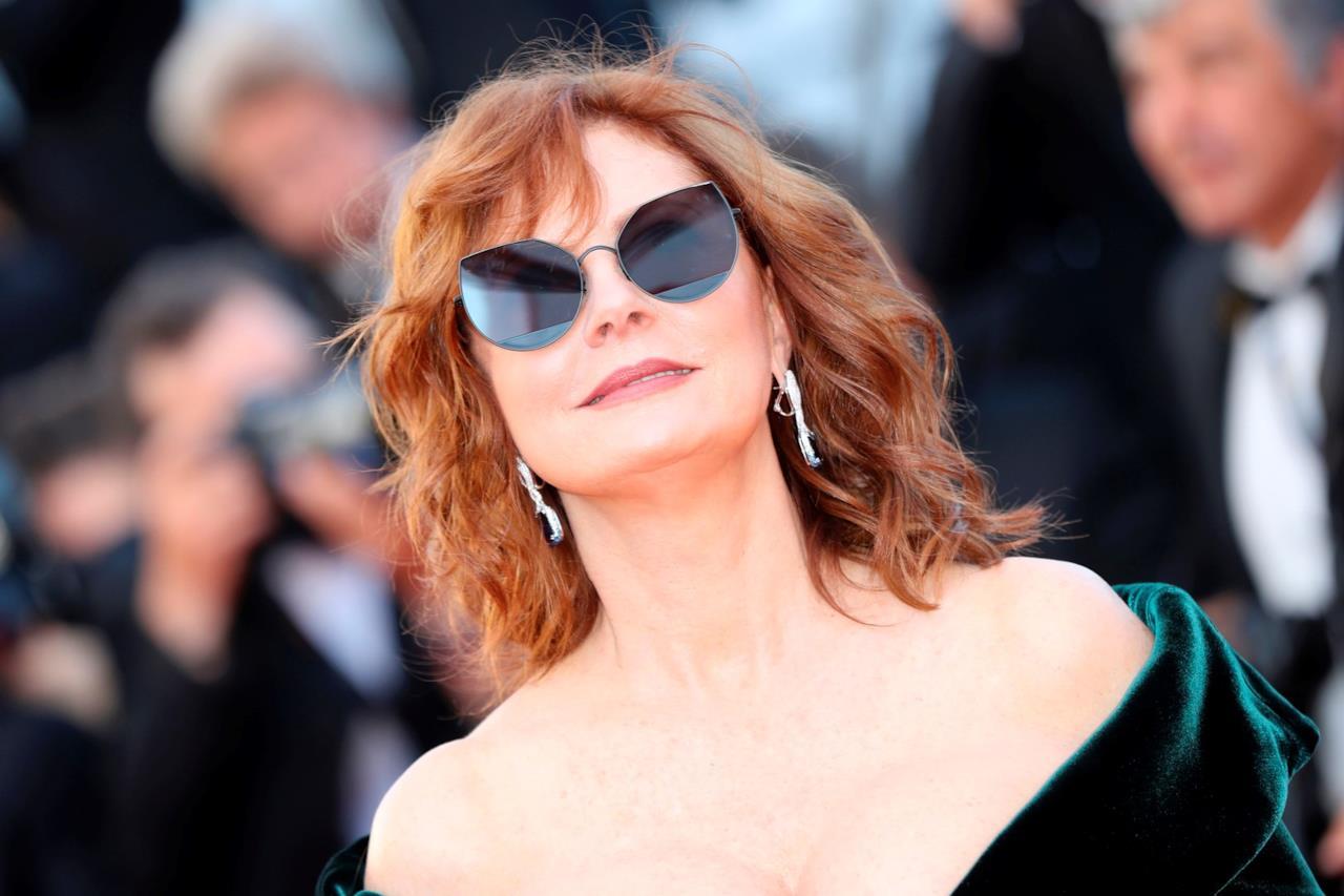 Susan Sarandon e i suoi occhiali da sole a Cannes 70