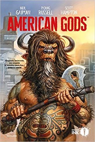 La copertina di American Gods