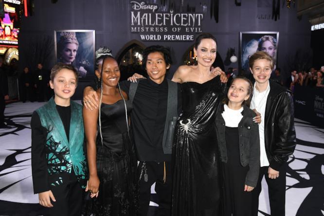 La prima di Meleficent 2 a Los Angeles, California