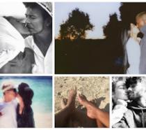 Alcuni scatti delle star postati su Instagram a San Valentino