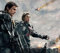 Tom Cruise ed Emily Blunt in Edge of Tomorrow - Senza domani