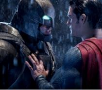 In foto Batman e Superman