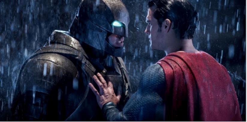 In foto Batman e Superman