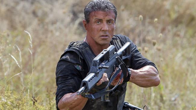 Sylvester Stallone in Mercenari 3