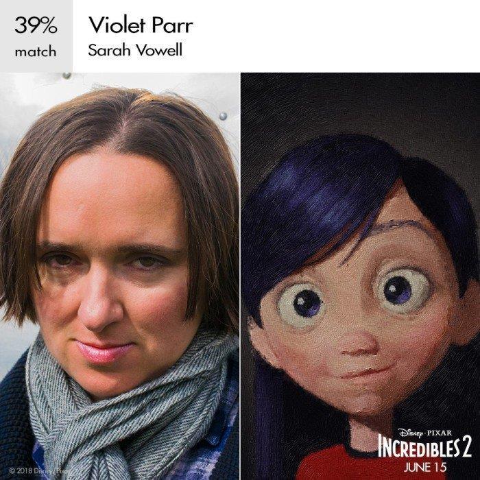 Sarah Vowell è ancora una volta la voce di Violetta Parr