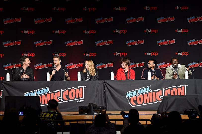 La presentazione della pellicola al panel del Comic Con di New York