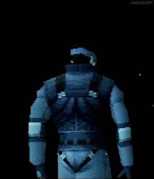 Solid Snake protagonista del videogioco