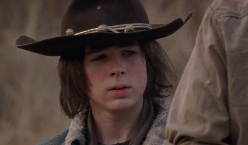Carl Grimes del telefilm The Walking Dead