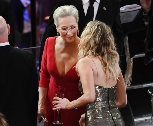 Jennifer Lawrence e Meryl Streep agli Oscar 2018