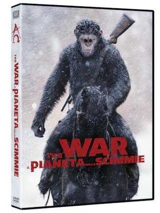 Il formato DVD di The War - Il pianeta delle scimmie