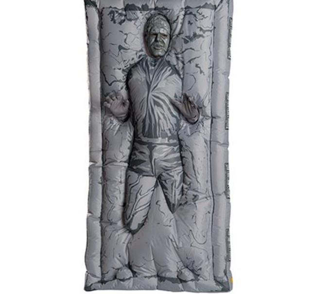 Han Solo nella carbonite, ecco il costume di Halloween