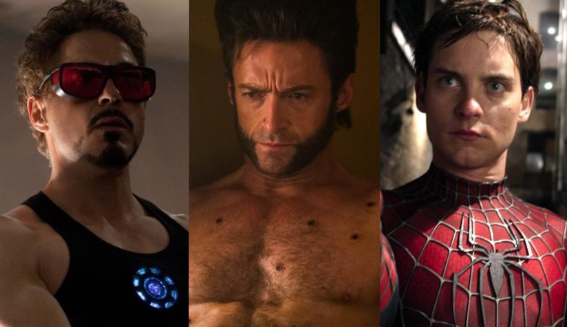 Downey Jr., Jackman e Maguire nella cover