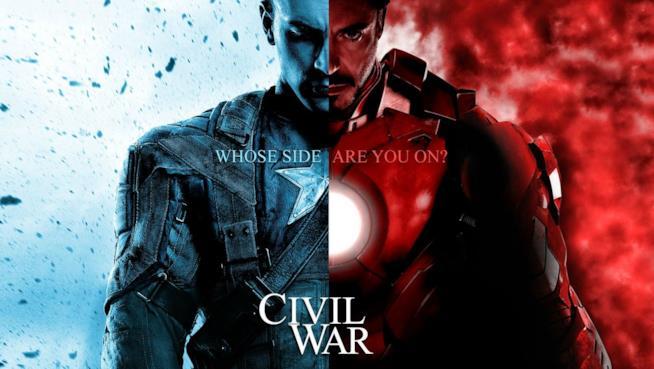 Il teaser poster di Captain America: Civil War