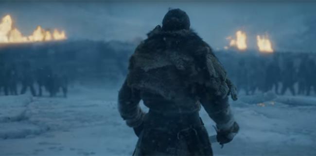 GOT 7: Jon Snow fronteggia un esercito