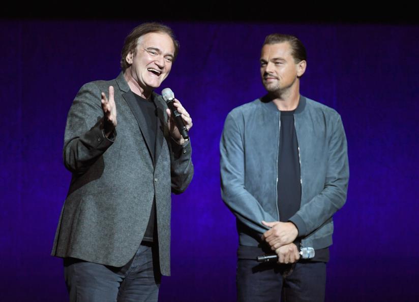 Quentin Tarantino e Leonardo DiCaprio