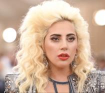 Un primo piano di Lady Gaga