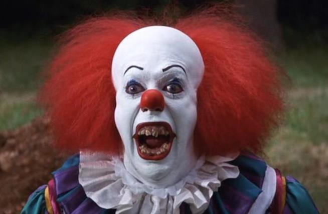 Pennywise, il clown di IT il pagliaccio