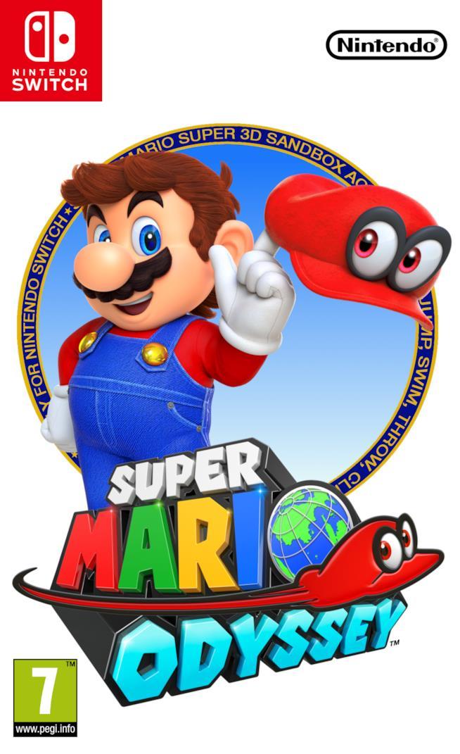 Super Mario Odyssey in uscita il 27 ottobre 2017
