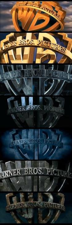 Dettaglio sul logo Warner Bros.