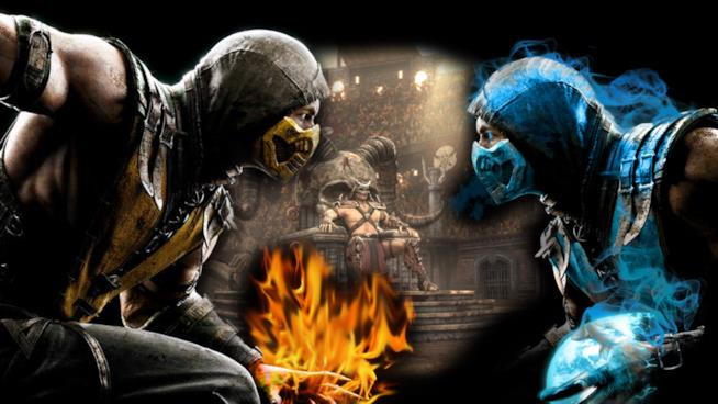 Scorpion vs. Sub-Zero in Mortal Kombat X