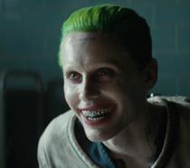 Jared Leto in primo piano nel ruolo del Joker