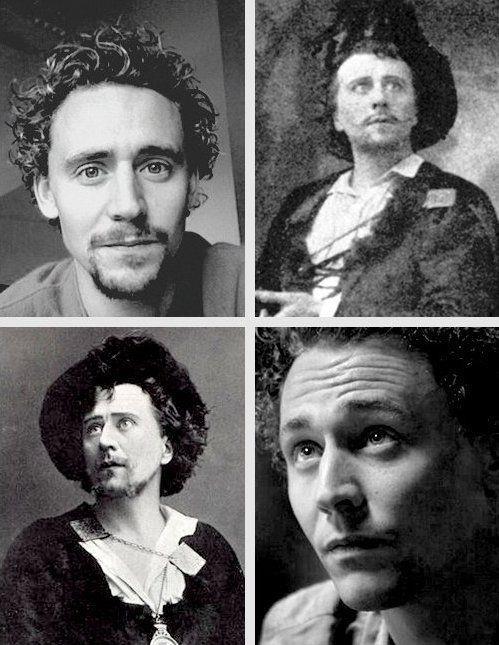 In primo piano ikl confronto tra Tom Hiddleston e Herbert Beerbohm Tree