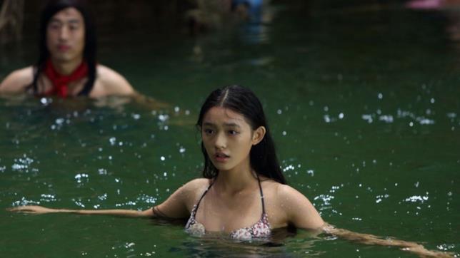 Yun Lin in una scena di The Mermaid
