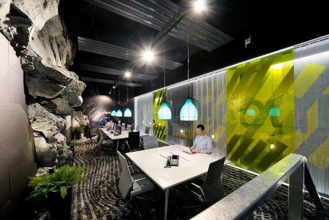 Un interno degli uffici di Google a Zurigo, Svizzera