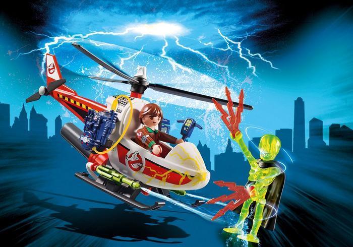 Venkman con elicottero, giocattolo Playmobil