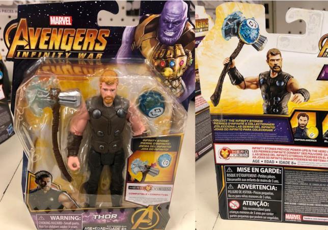 Uno sguardo all'action figure di Thor