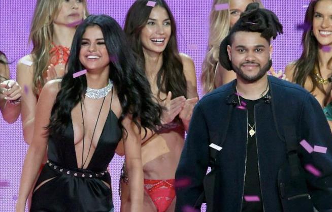 Un'immagine di Selena Gomez e The Weeknd