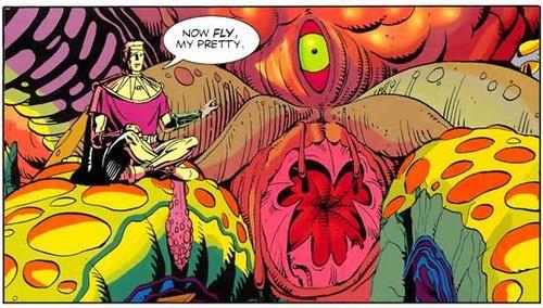 Disegno estratto dalle pagine finali del graphic novel Watchmen, scritto da Alan Moore e disegnato da Dave Gibbons