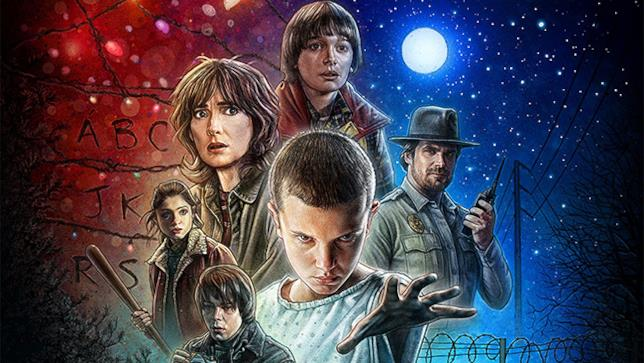 Il poster di Stranger Things