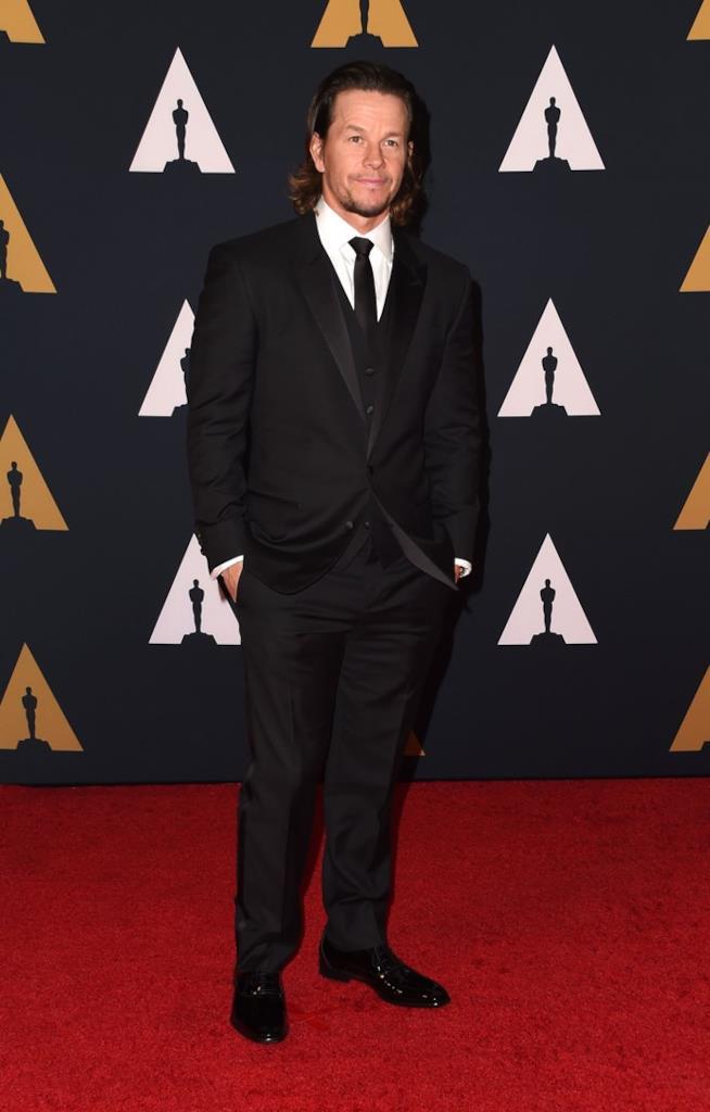 Mark Wahlberg sul red carpet degli Oscar